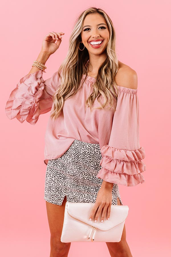 Unapologetically Chic Off Shoulder Shift Top