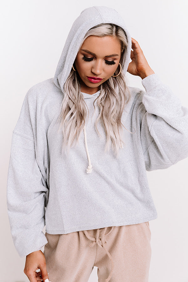 Gaining Momentum Hoodie In Grey