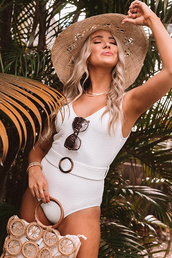 Private Charter One Piece Swimsuit