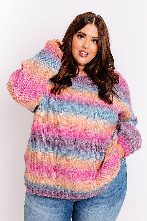 Candy Coated Knit Sweater