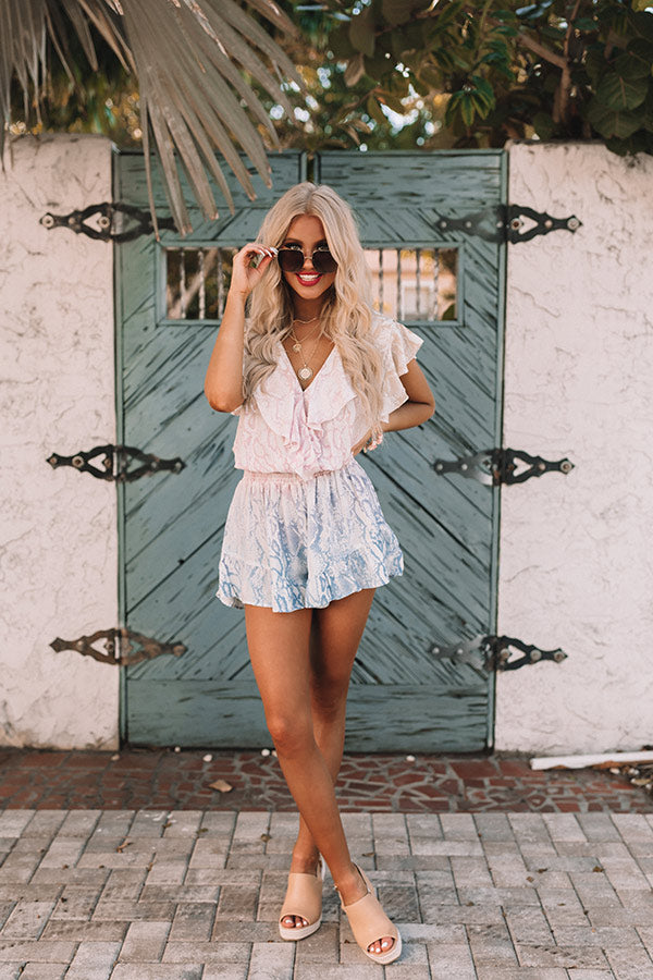 Suite By The Sea Snake Print Romper