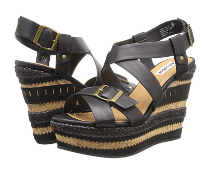 Dream To Live Wedge in Black