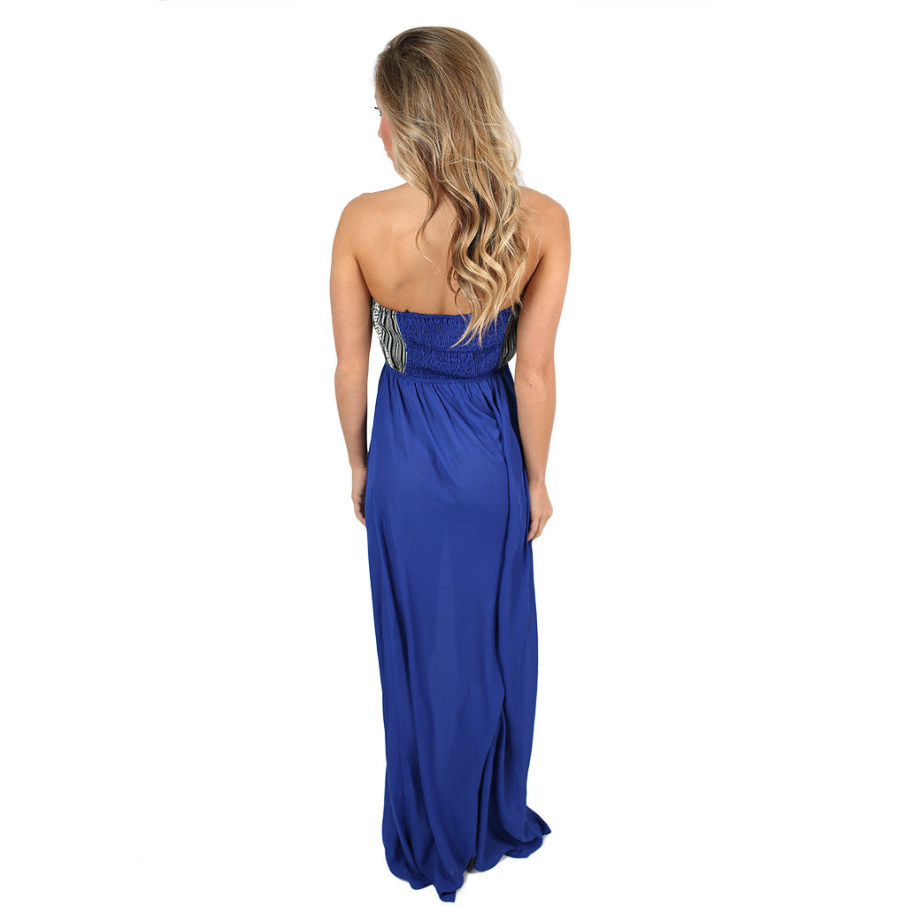 Great Expressions Maxi in Royal Blue