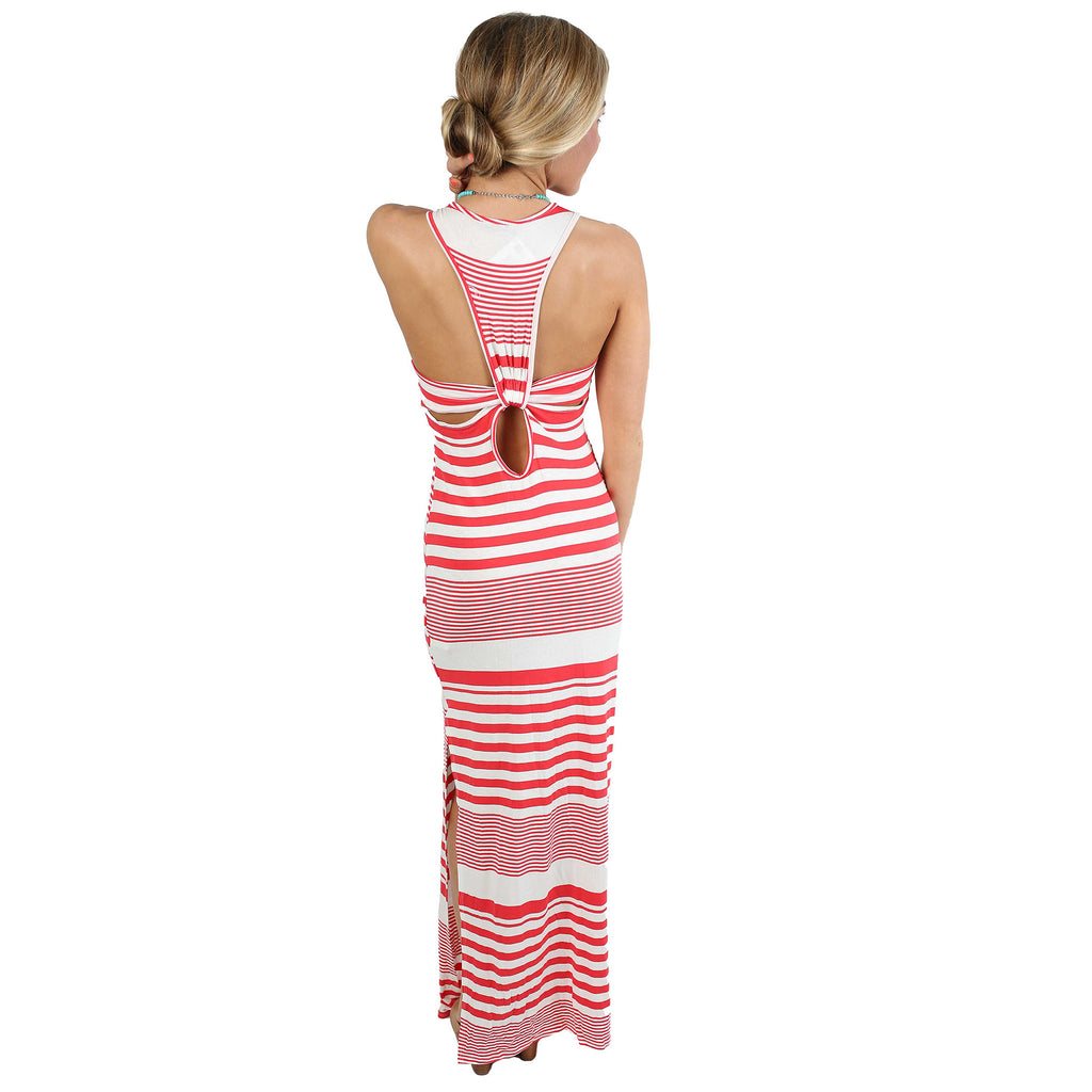 Heart On The Beach Maxi in Red