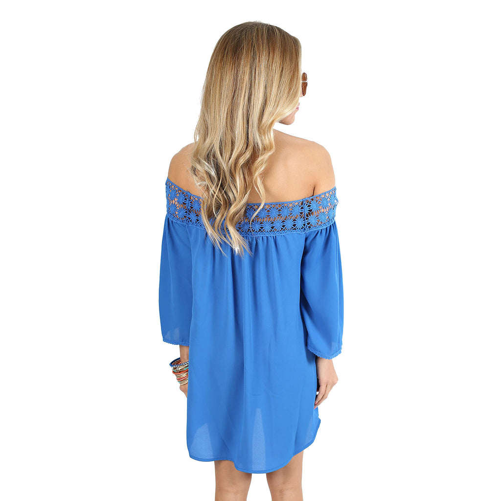 Inner Beauty Top in Royal Blue