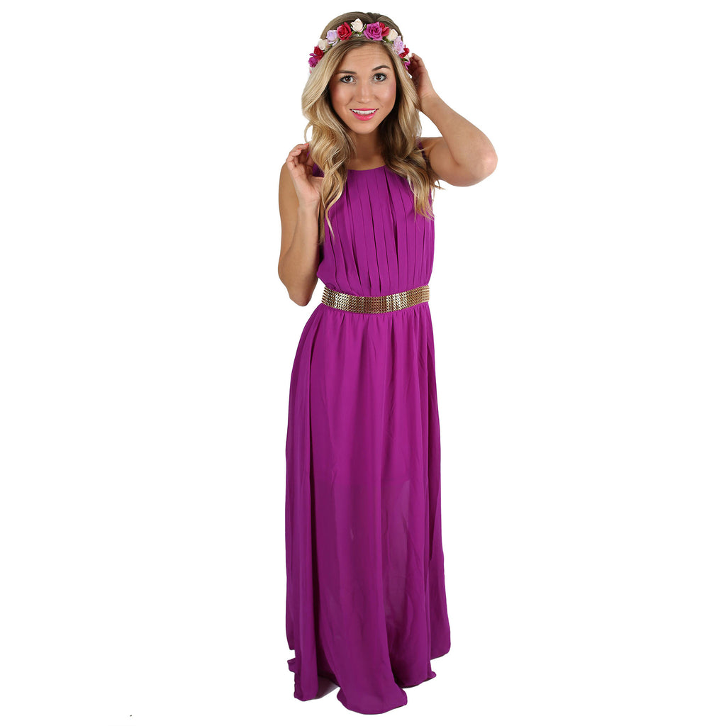 Summer Sunsets Maxi in Purple