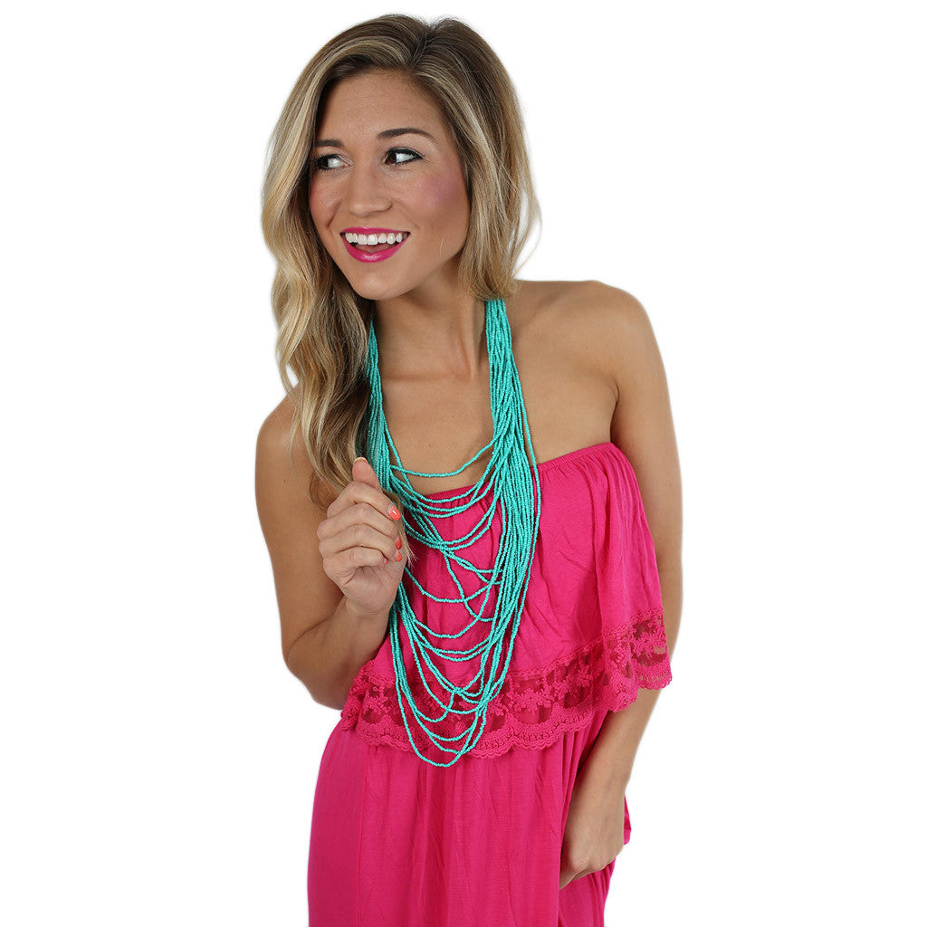 Shop 'Til I Drop Maxi in Pink