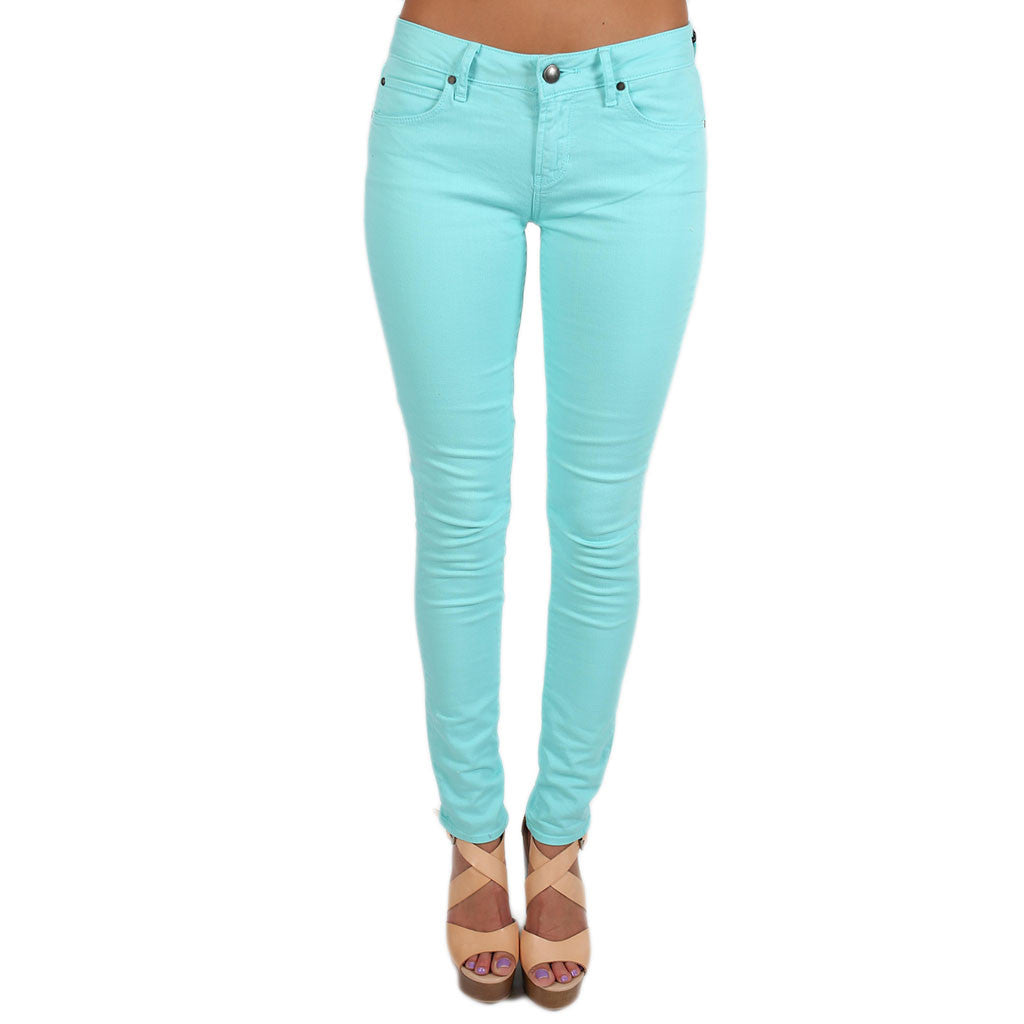 Iconic Skinny Jean in Teal