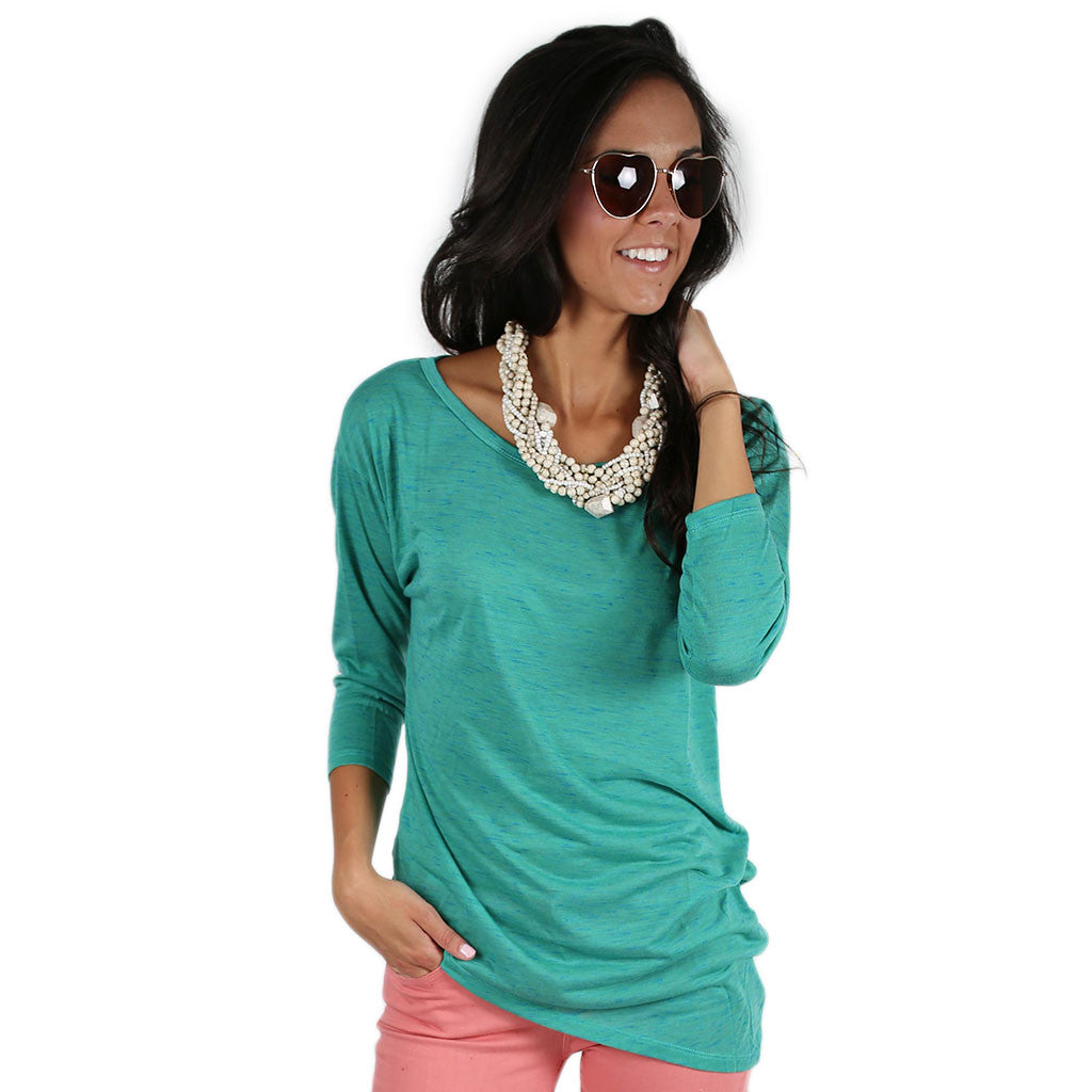 Sweetheart Tee Teal