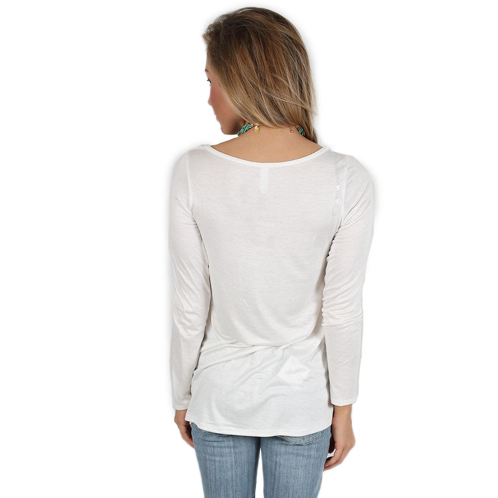 Graceful Tee in Ivory