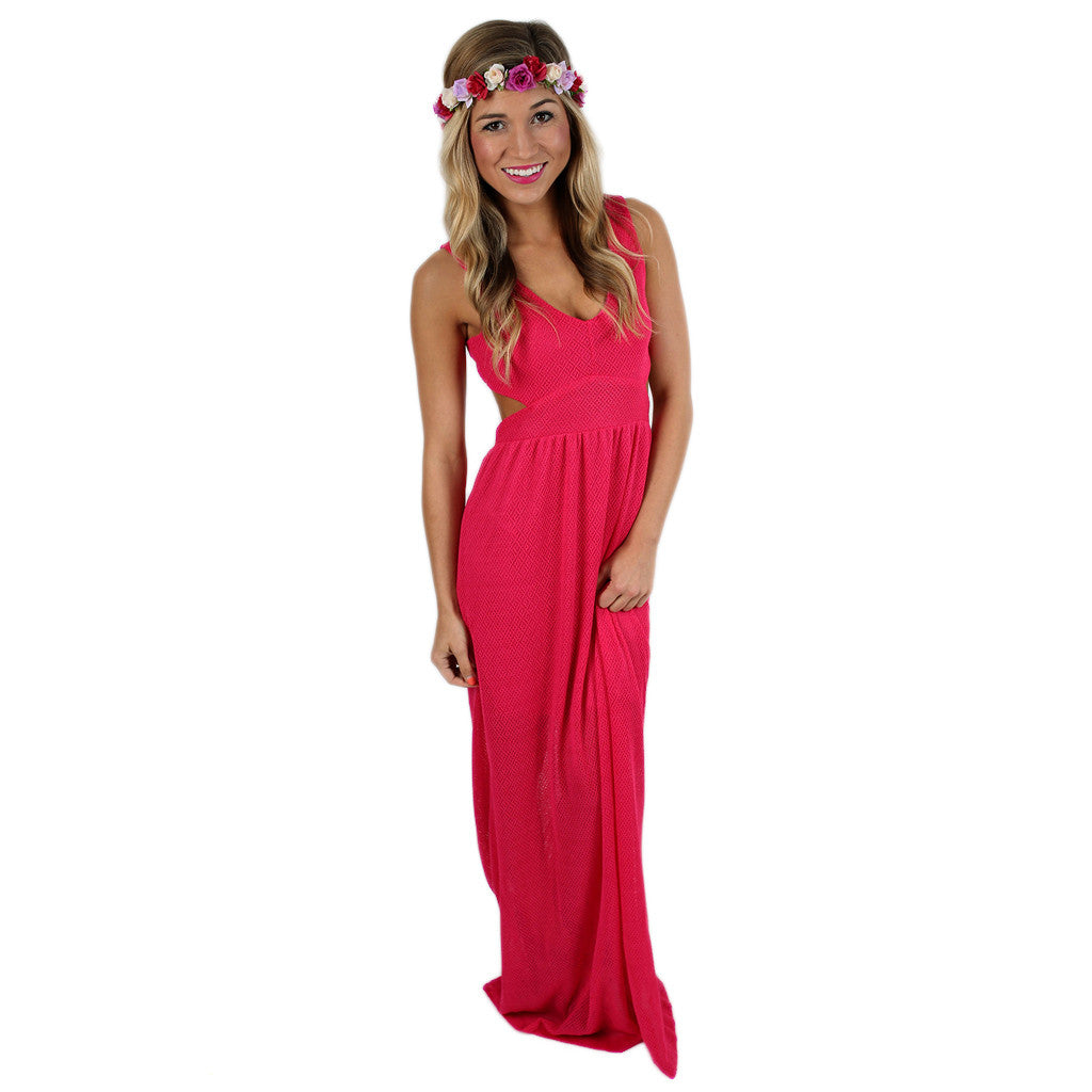 Making Headlines Maxi Hot Pink