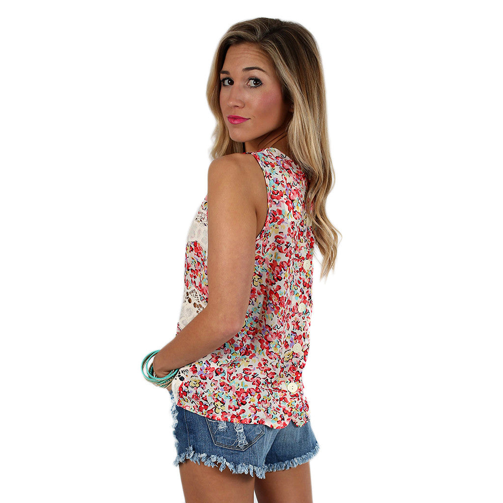 Floral Beauty Tank