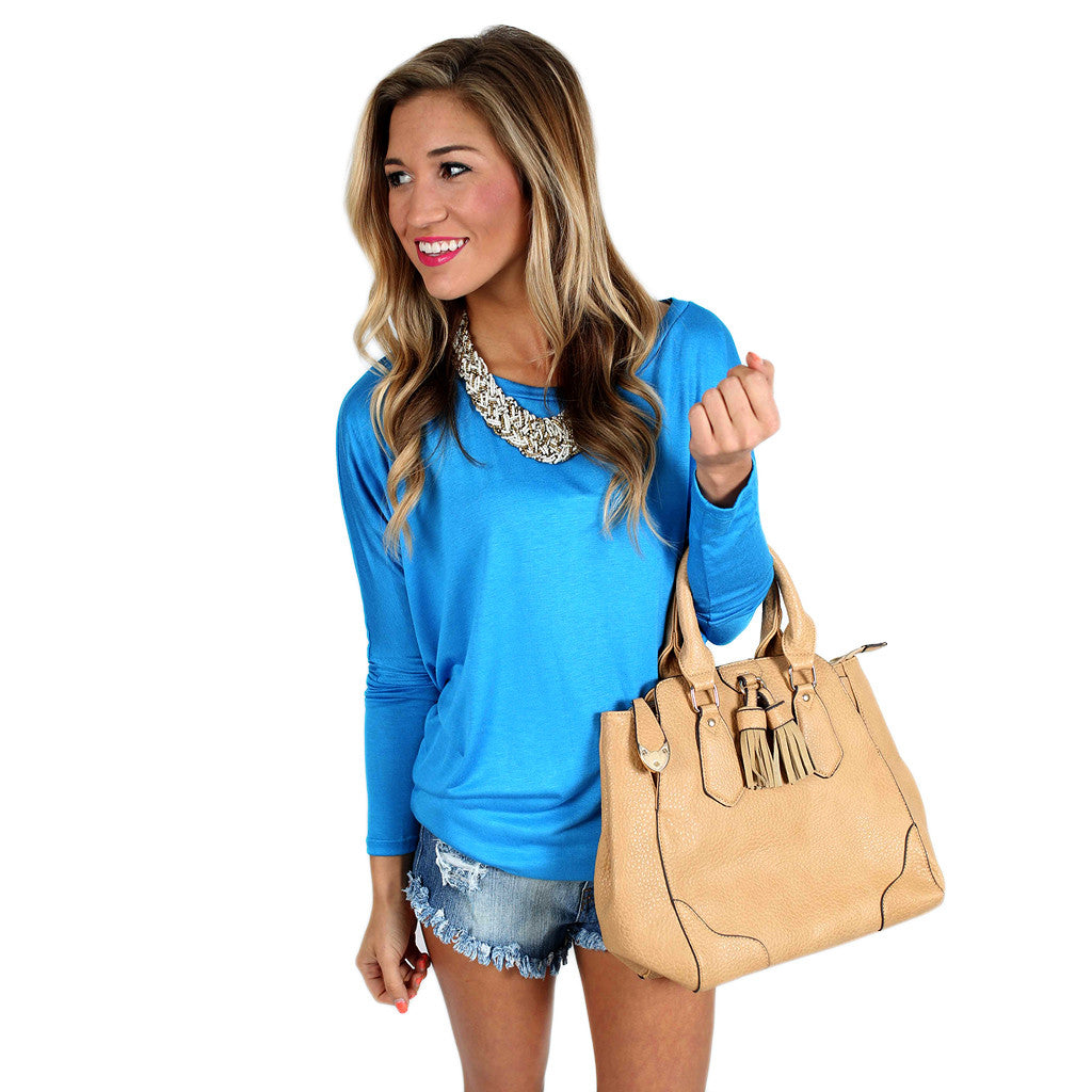 Crush Worthy Tunic Blue