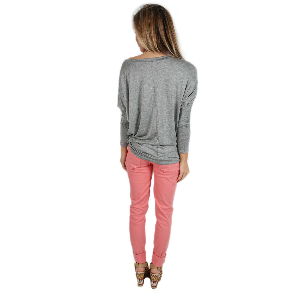 Crush Worthy Tunic Grey
