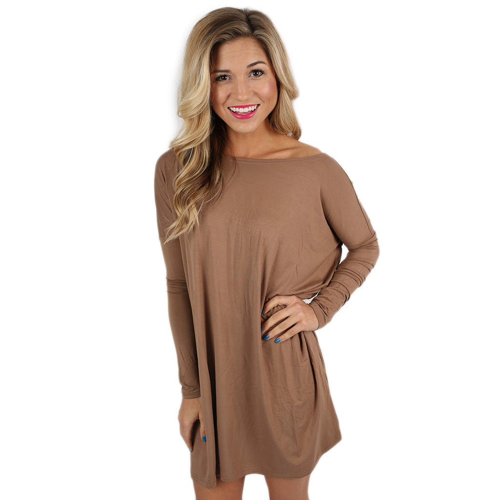 PIKO Tunic in Mocha