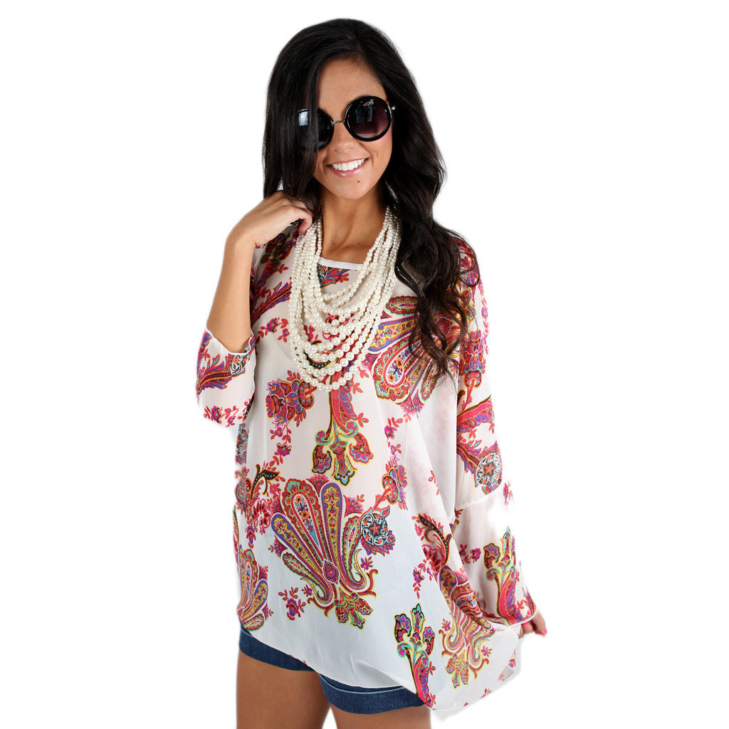 Weekend Plans Tunic