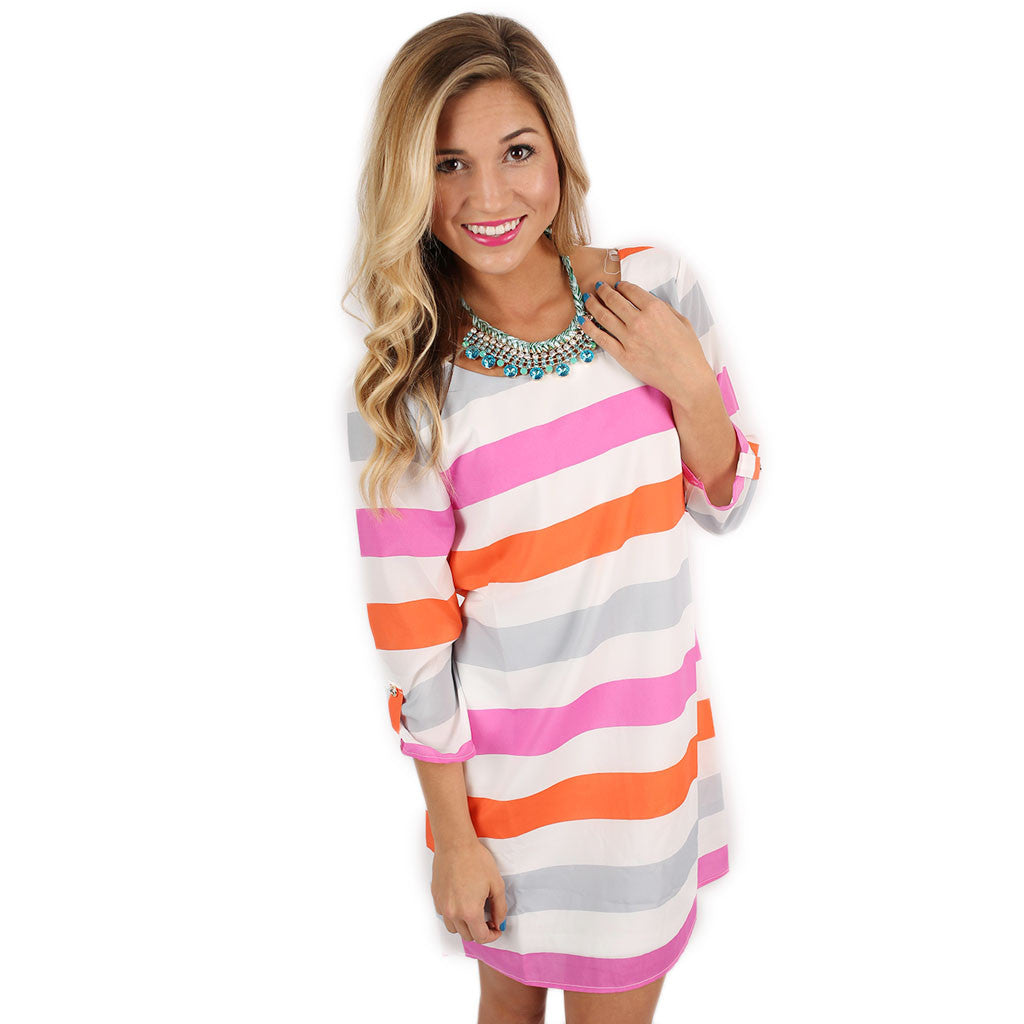 Popsicle Dreaming Shift Dress