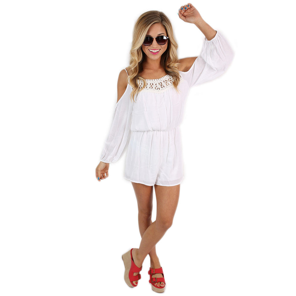 Sitting on Cloud Nine Romper