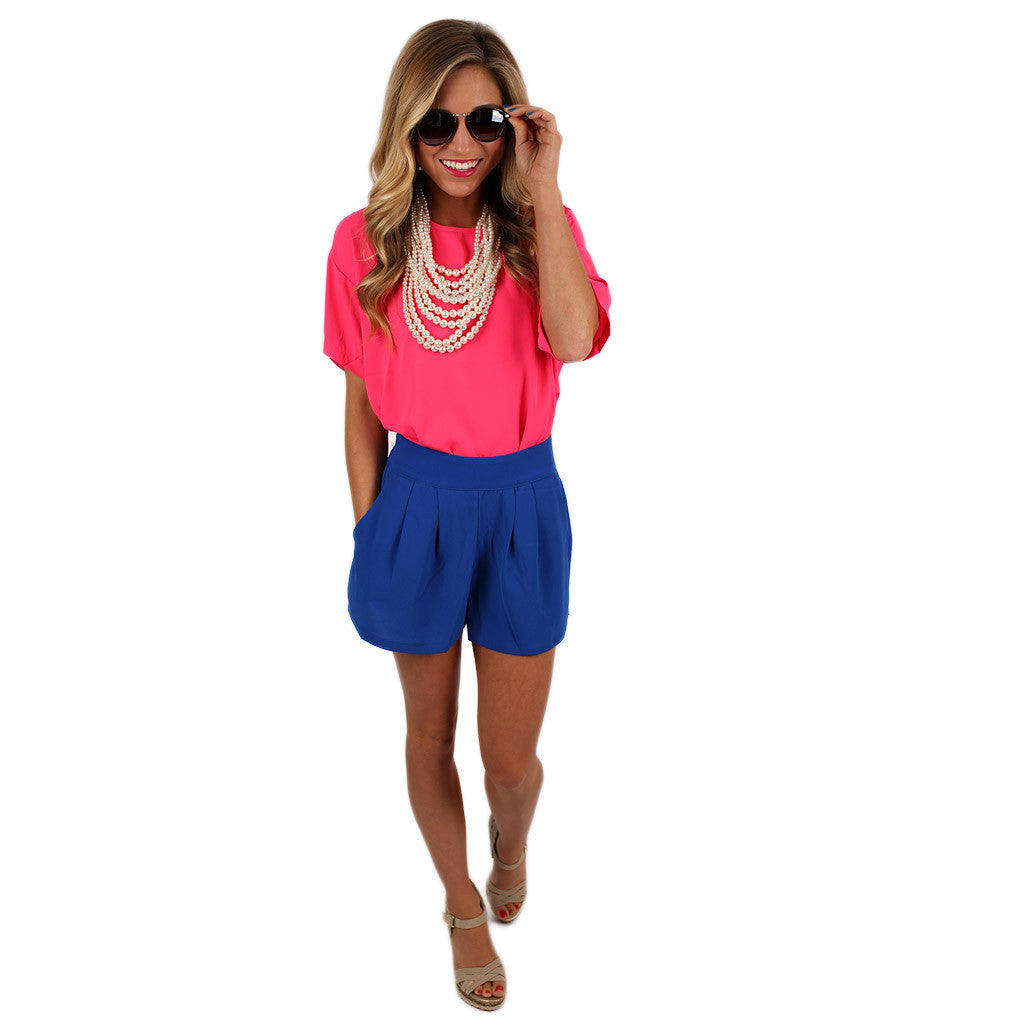 Flawless Shorts Royal Blue