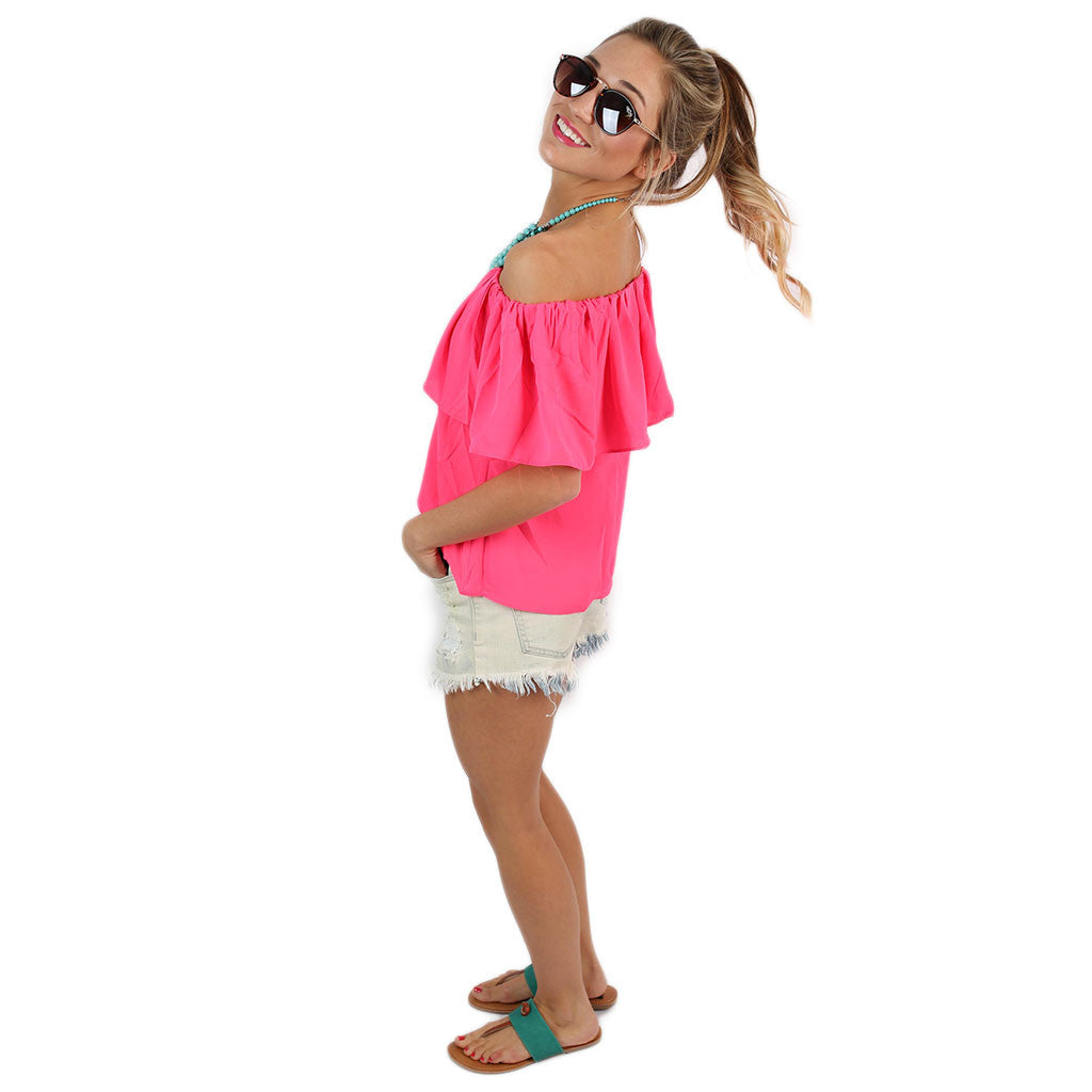 Island Hopping Top in Pink