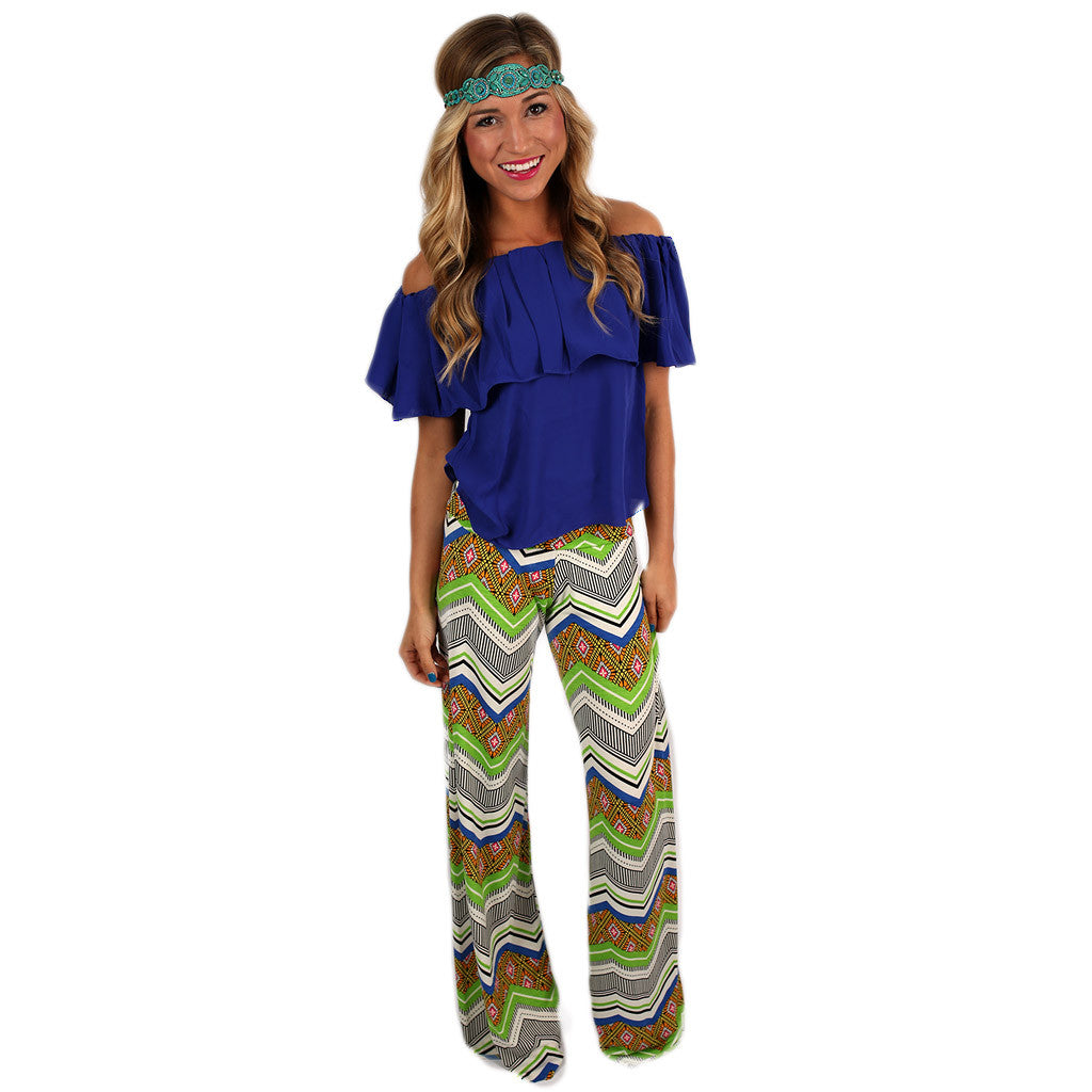 Styled So Chic Pant Lime