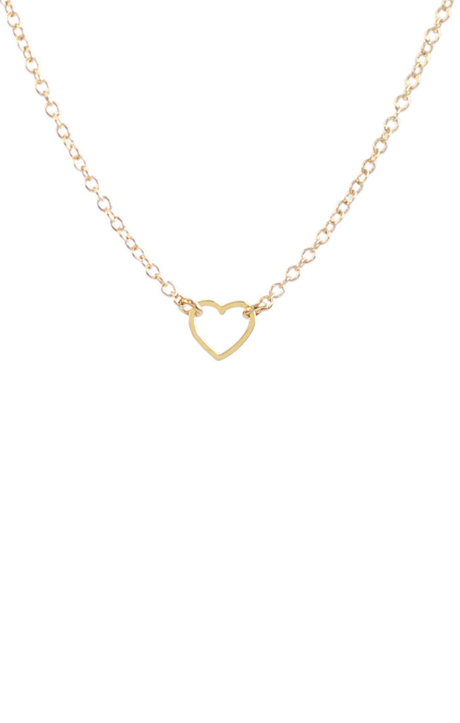 Kris Nations Tiny Heart Pendant Necklace