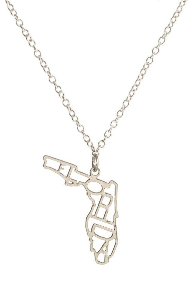 Kris nations state pride necklace silver impressions online boutique kris nations state pride necklace silver aloadofball Images