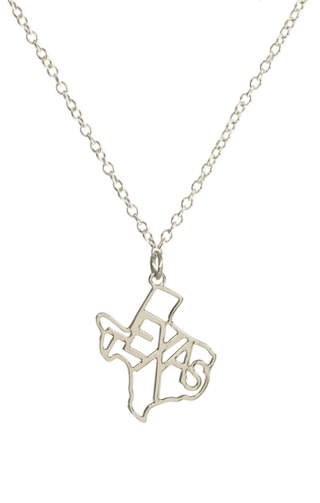 Kris Nations State Pride Necklace Silver