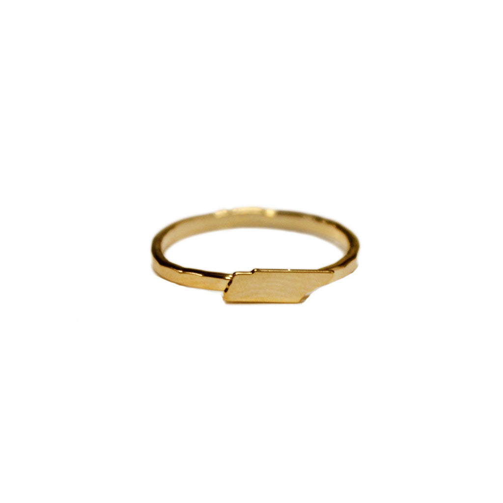 Kris Nations Tennessee Ring Gold