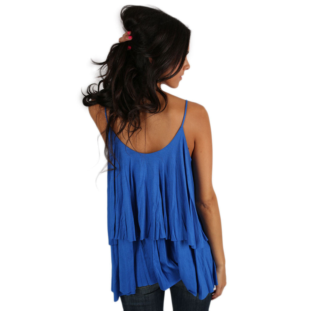 Layering Love Tank in Royal Blue