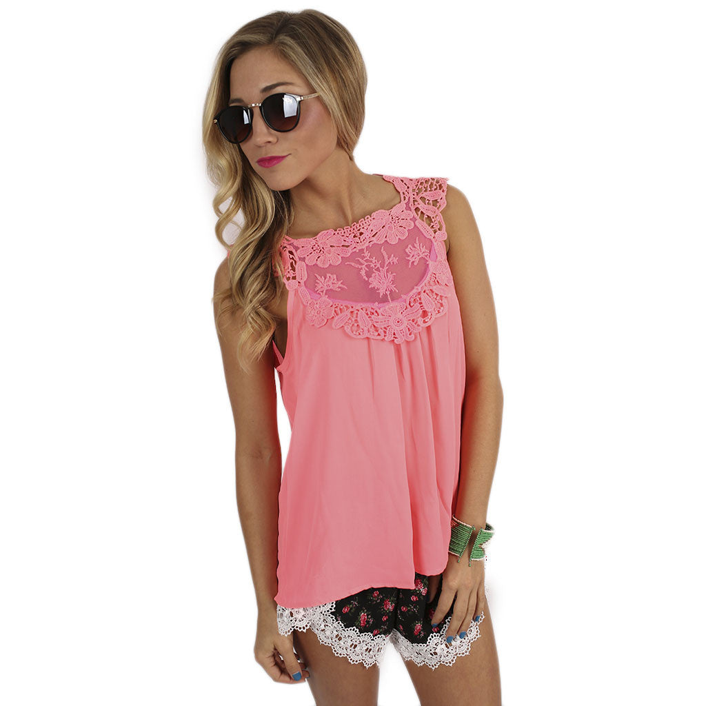 Hopeless Romantic Top in Pink