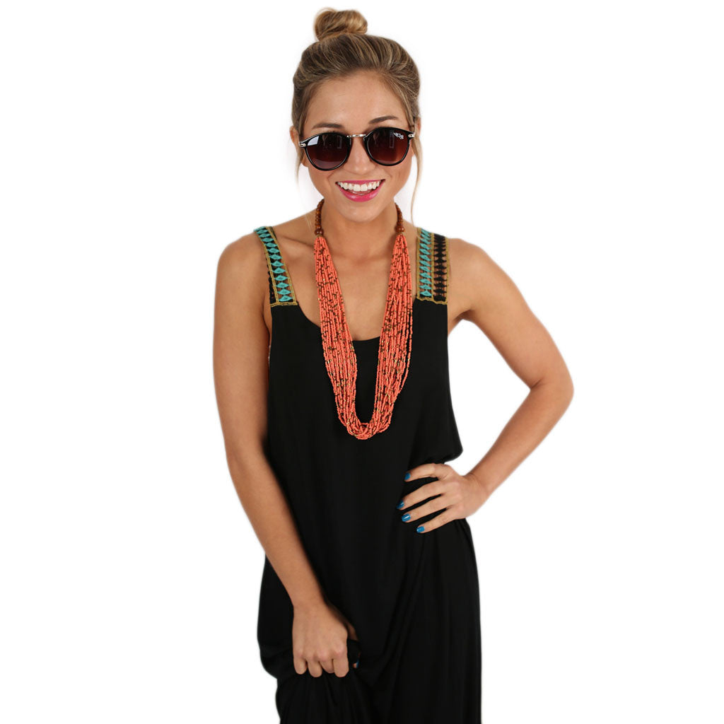 Keeping it Breezy Maxi Black