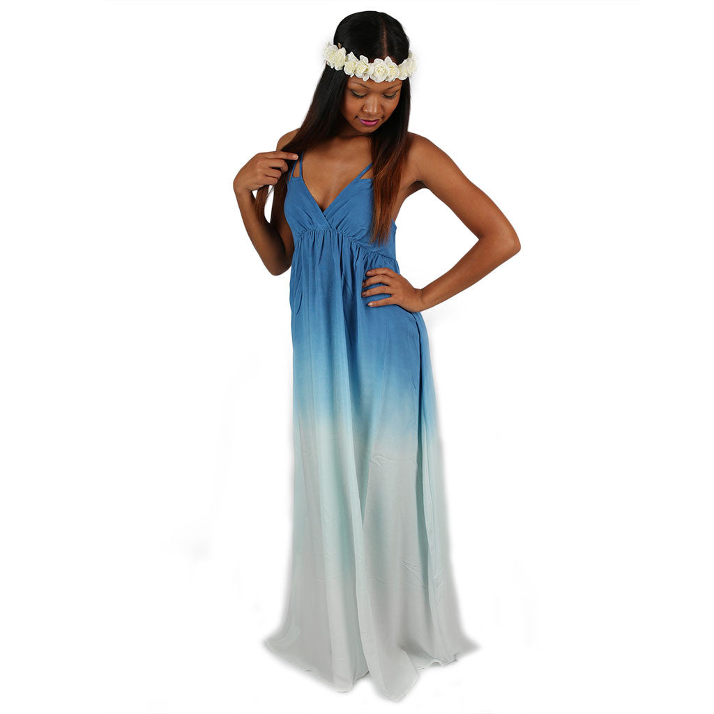 The Alexis Maxi in Blue