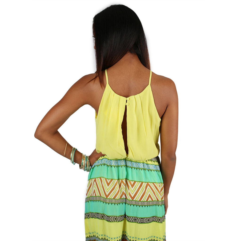 Acapulco Sunset Maxi in Yellow