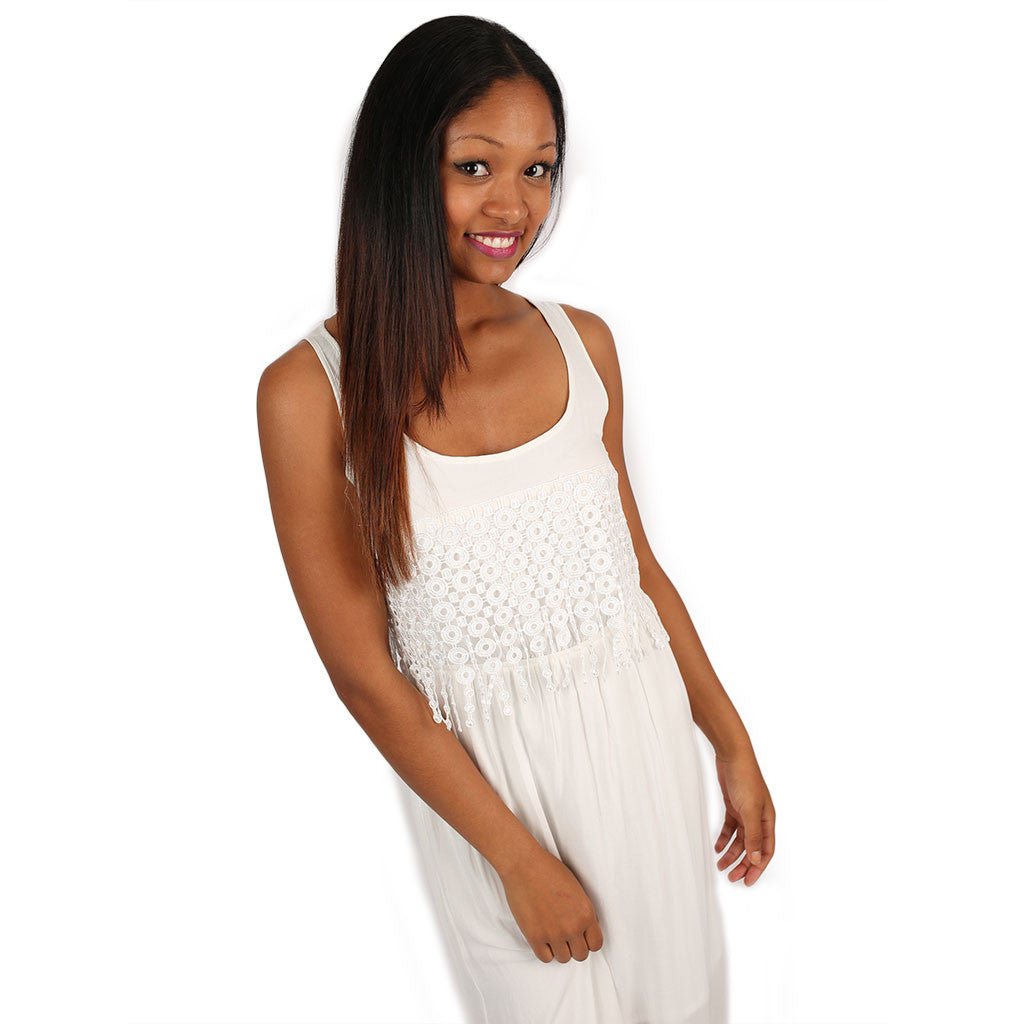 Living Out Your Dreams Maxi in Ivory