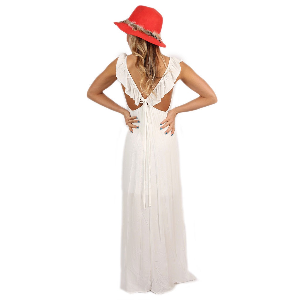 Livin' On Island Time Maxi in Ivory