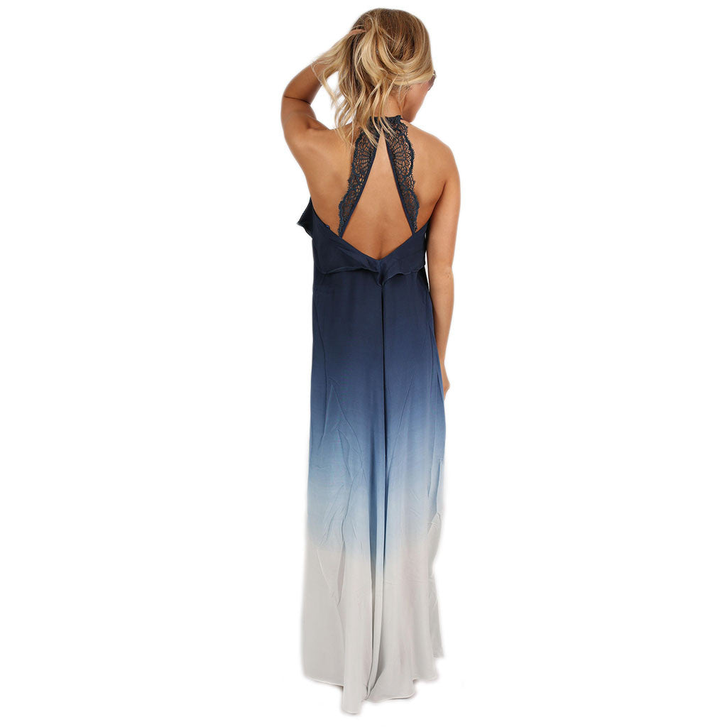 Vacation In Maui Maxi in Navy
