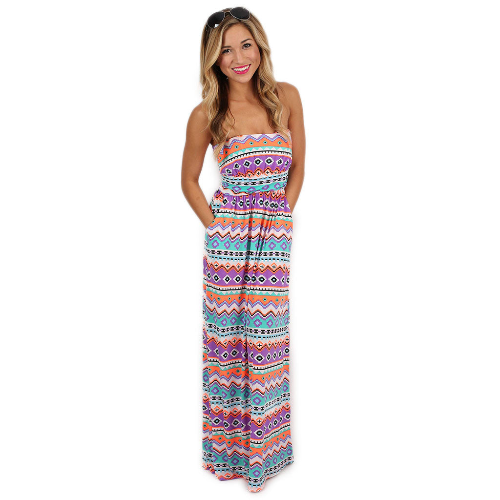 Margarita Monday Maxi in Purple