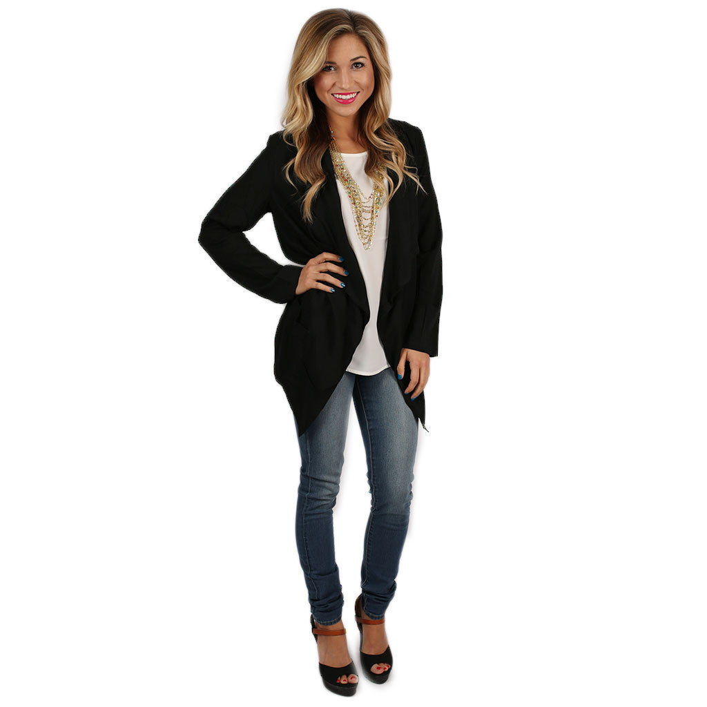 Single in the City Blazer Black
