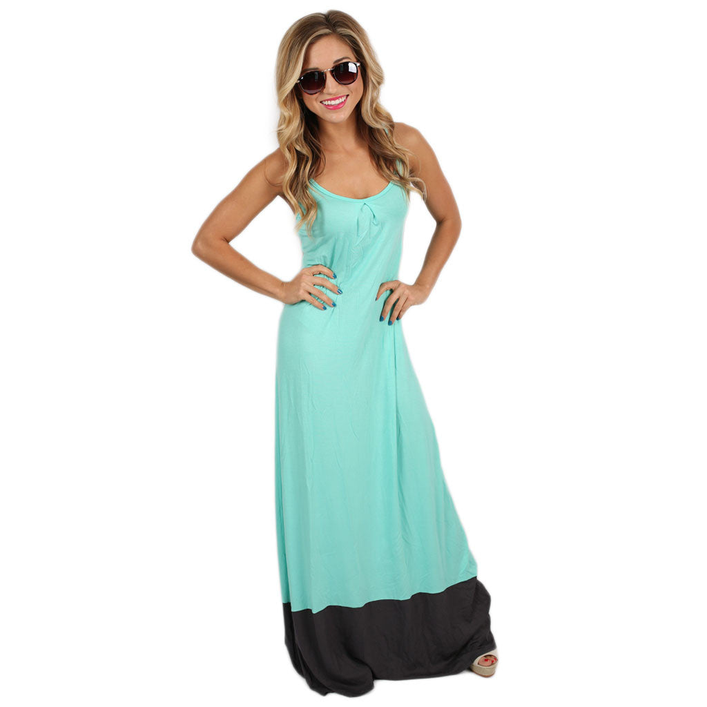 Sweetest Summertime Maxi in Mint