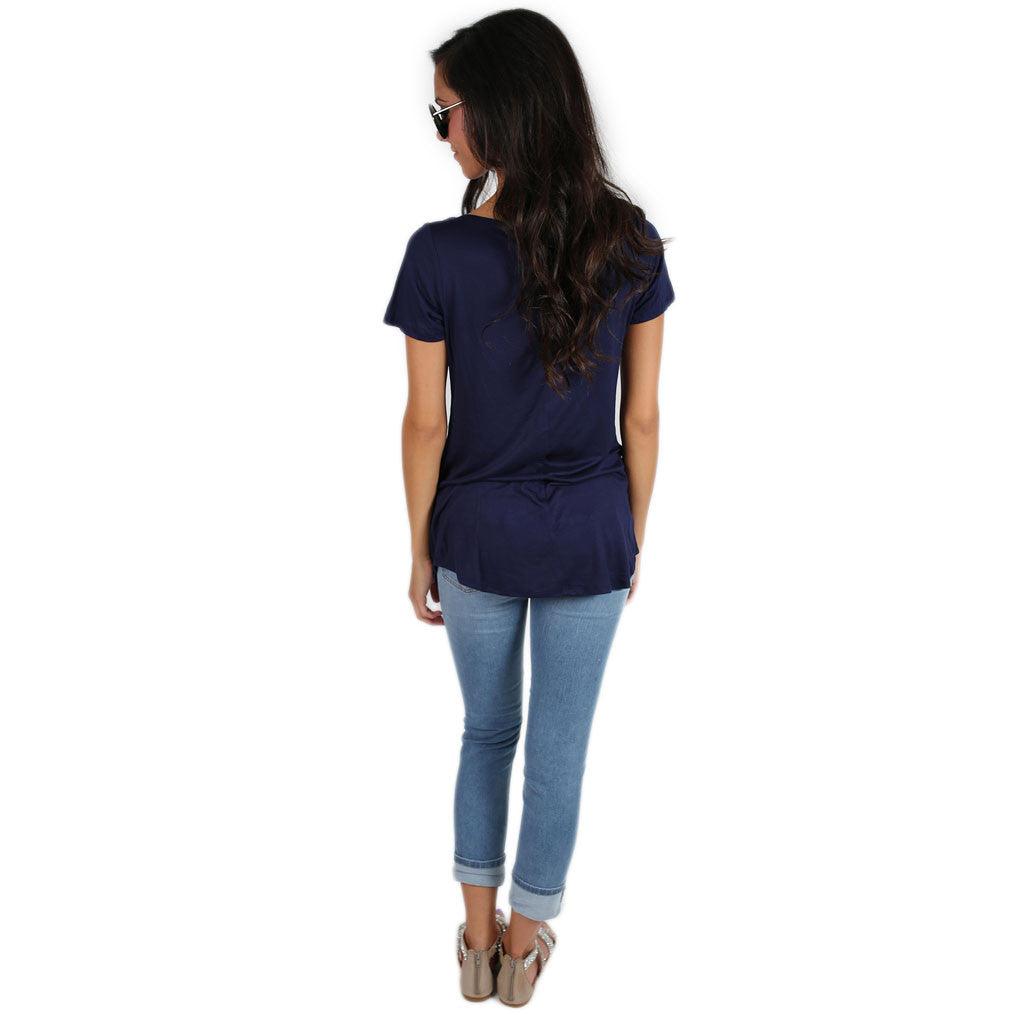 Personality Perfect Tee Navy