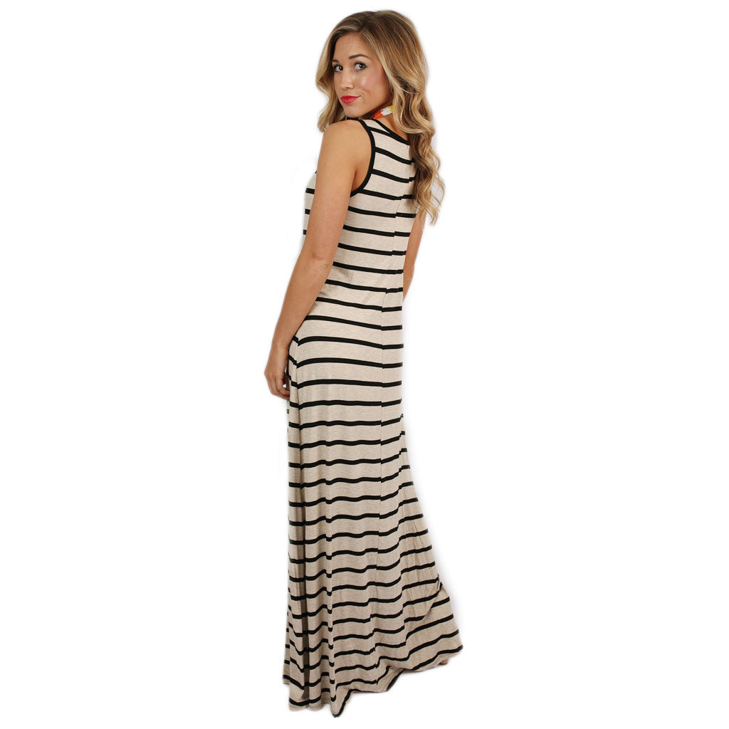Island Girl Maxi in Oatmeal