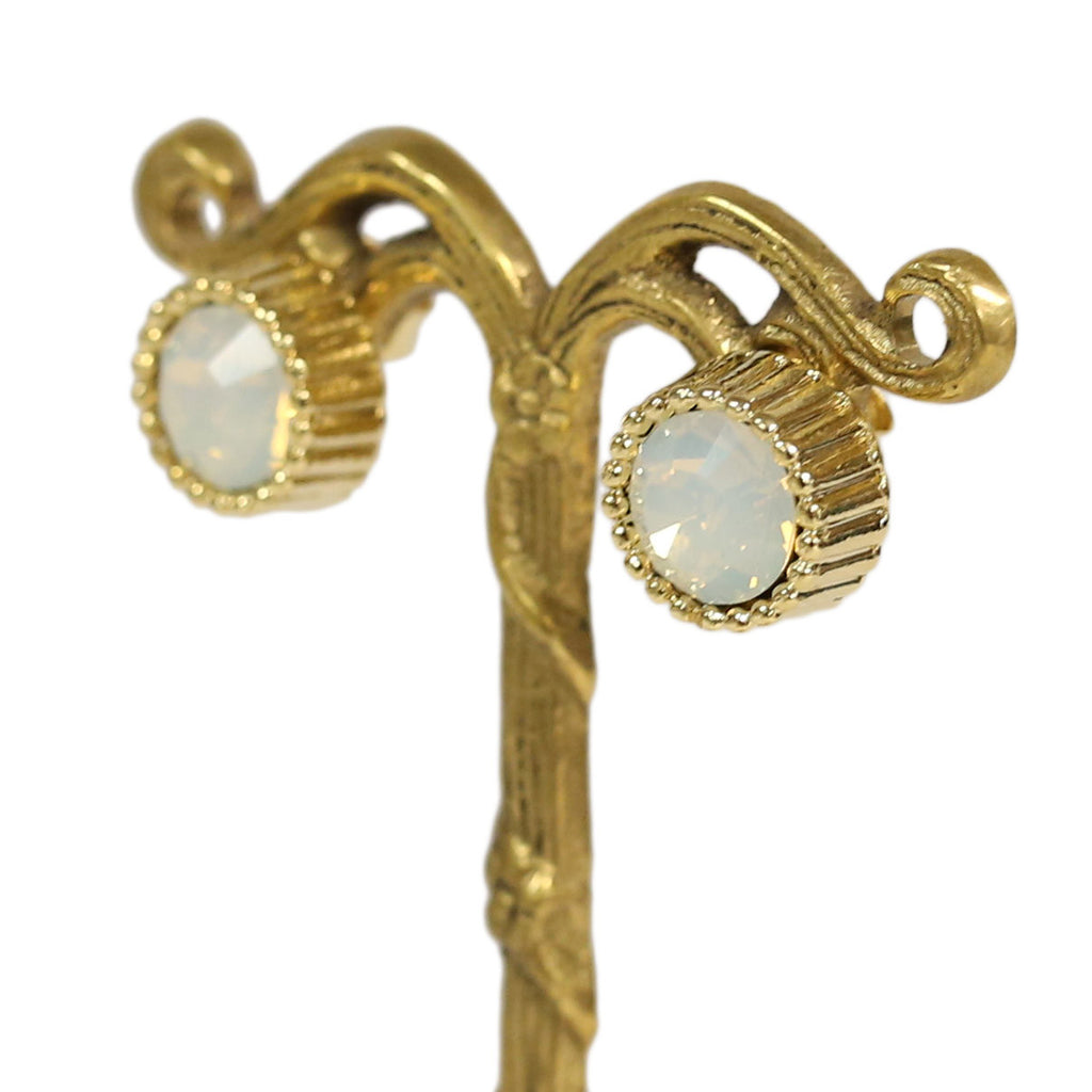 Blissful Day Earrings in Opal