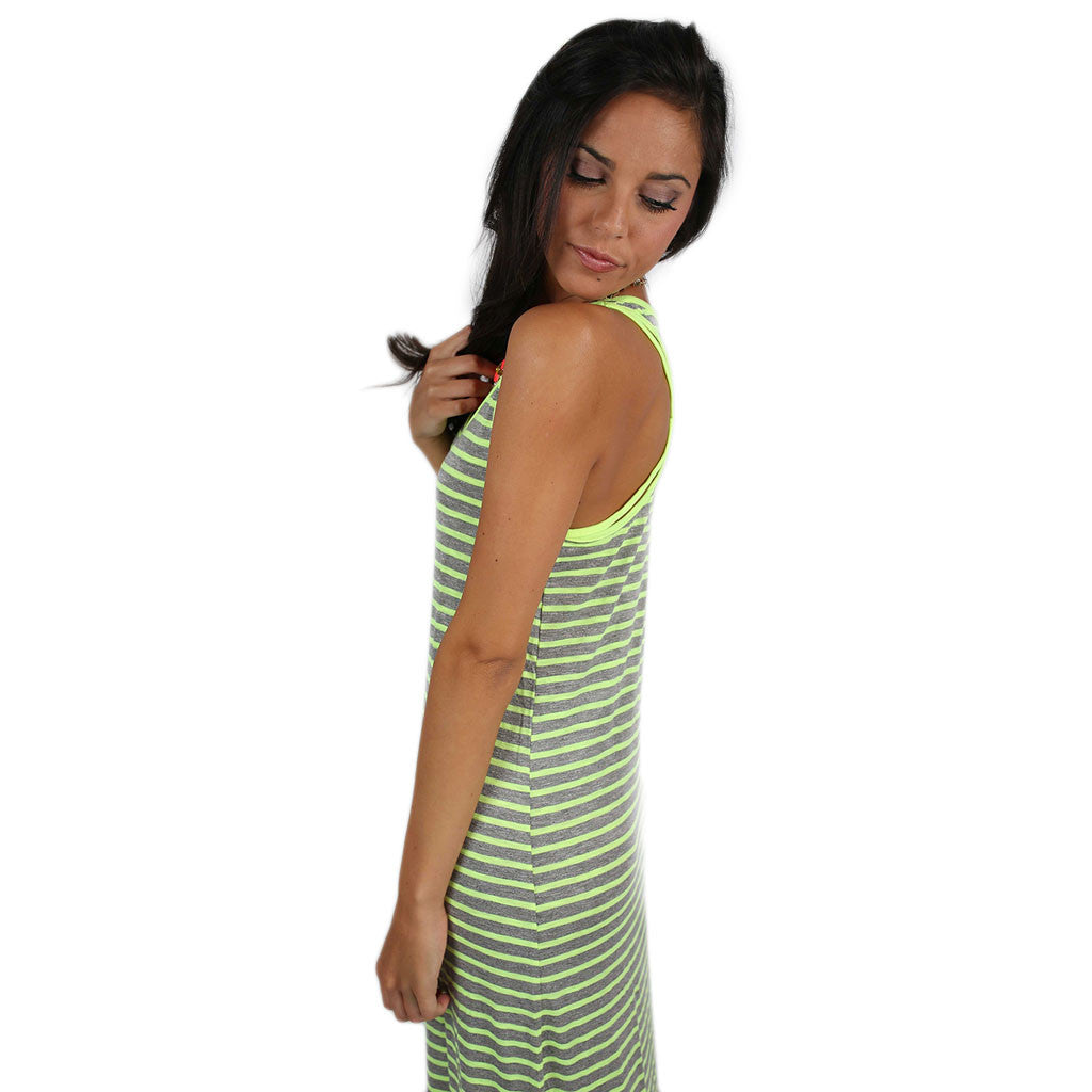 Beach Waves Maxi in Lime
