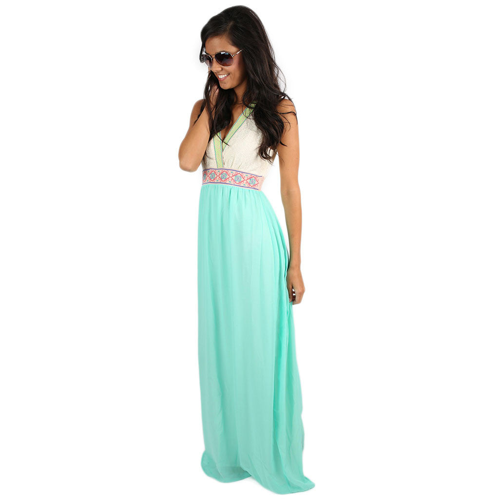 Sunny Days Maxi in Mint