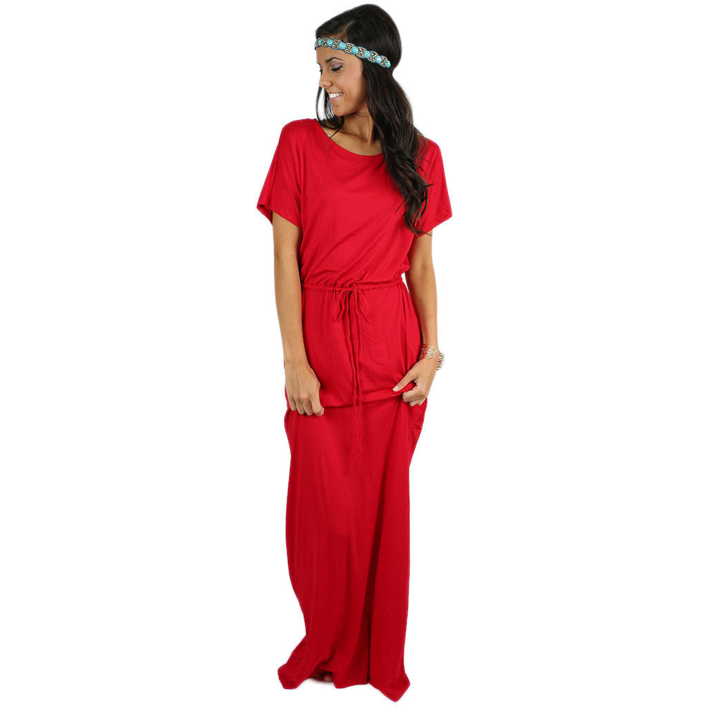 East Meets Best Maxi in Red