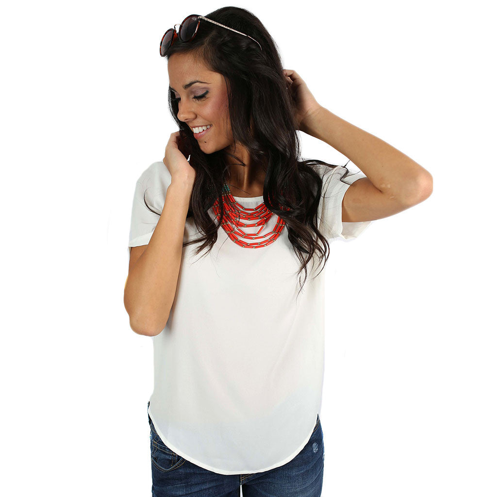 Style Me Pretty Tee Ivory