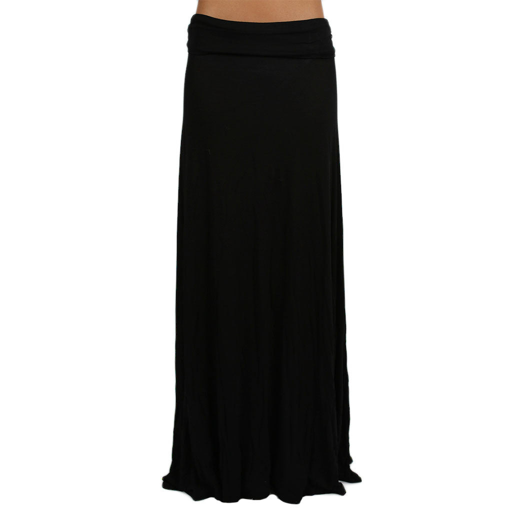 Not So Basic Maxi Skirt in Black
