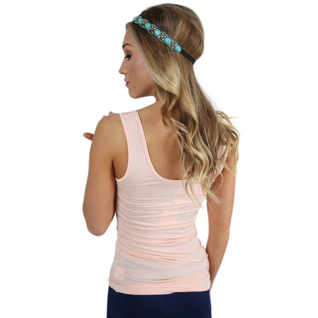 Impress Basic Tank in Baby Pink