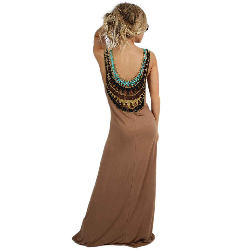 Keeping It Breezy Maxi Mocha